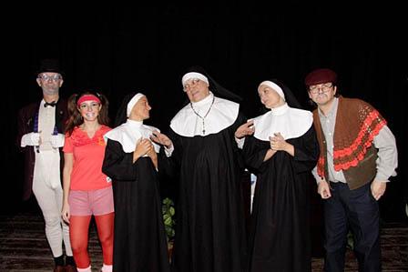 2010 - Ultimo spettacolo al P.I.P.P.A. - Compagnia Più o Meno
